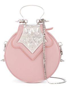 Shop Okhtein mini Dome bag.