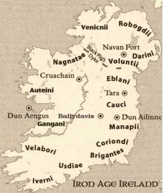 Celtic tribes of Ireland