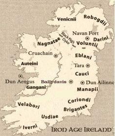 Celtic tribes of Ireland