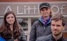 Alisha Newton, Amber Marshall and Graham Wardle at Cruise for a Cause