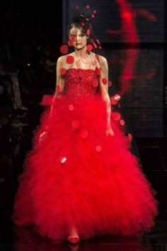 Vestito rosso armani
