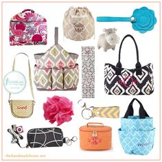 Love Initials Inc., Personally Designed Bags,  Luggage, Wallets, Purses And More!! Order from my Friend Beth Ward at Initials Inc.,