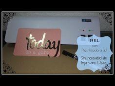 FOIL NA PLASTIFICADORA - YouTube