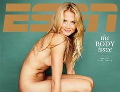Το ESPN magazine τα τελευταία χρόνια αφιερώνει ένα τεύχος σε γυμνή φωτογράφηση των διασημότερων αμερικανών αθλητών. Με συμμετοχή αναγνωρισμένων φωτογράφων και υψηλή αισθητική, το αποτέλεσμα είναι ξεχωριστό. Ενδιαφέρον το βίντεο με το πώς φωτογραφήθηκε γυμνή