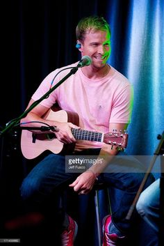 Brian Littrell of the Backstreet Boys performs at the Q102 Performance Theater on June 24, 2013 in Bala Cynwyd, Pennsylvania.