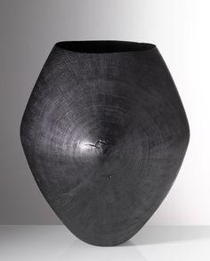 Friedemann Buehler, 2011, blackened oakwood, Photo Richard Becker