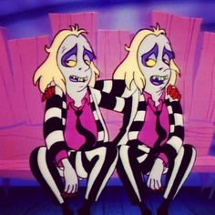 Tim Burton - Beetlejuice Cartoon, 1989