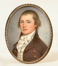 Pook and Pook Auction Gallery | Fine Miniature Portrait On Ivory by James Peale