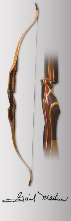 Martin Archery - Traditional Bows - Gail Martin Signature Recurve