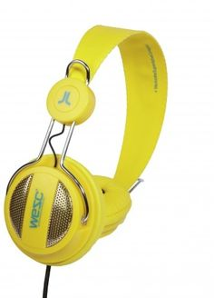 Headphones/ Oboe Vibrant Yellow - my newest headphones, on their way here now!