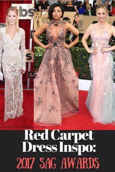 SAG Awards Red Carpet Taraji Julie Bowen Kaley Cuoco