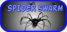 Spider Swarm is cool and creepy game for Android. Creepy Games, Spiders, Android, Cool Stuff, Spider