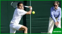 Estrella brilla en la grama de Wimbledon