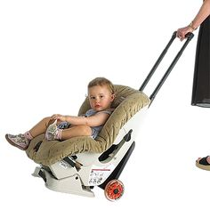 This is the best!  We used it several times when traveling as a good way to cut down on what we had to carry with us.  We needed the car seat for the rental car and didn't want to carry a carseat and a stroller.  This compromise worked beautifully.  We even loaned it out to my sister-in-law a few times.