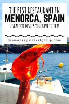 The Best Restaurants in Menorca, Spain - 7 Seafood Dishes you have to try! Restaurants in Menorca offer the hungry traveller a truly sensational eating experience. At the heart of any travel destination is food and this is especially true of Menorca; the cultivation, collection, variation, preparation and ultimately its consumption are the foundation for almost all activity on the island and the daily schedules of those who live there.