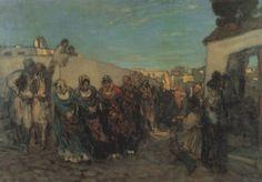 .:. Γύζης Νικόλαος – Gyzis Nikolaos [1842-1901]  Μεγαρίτικη τράτα