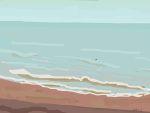 Danny Mooney 'Bouy, 10/3/2015' iPad painting #APAD