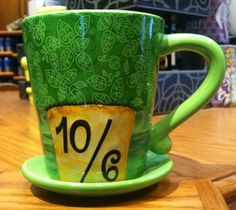 Mad Hatter Coffee Mug I collect mugs and I would LOVE THIS ONE FOREVER!