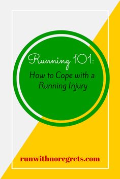 For this edition of Running 101, I'm sharing tips on how to cope with a running injury. Unfortunately, injuries come with the territory, but you can get through it! Check out more at runwithnoregrets.com!