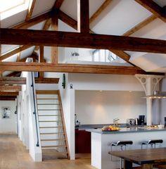 Woon- en eetkamer | Loft keuken. Een droom! Door RAlte