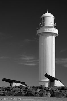 Wollongong Breakwater Lighthouse, New South Wales, Australia