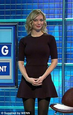 Covering up: However, the Oxford graduate is believed to have been toning down her looks since 2012 when The Sun reported that the brainbox was having to 'send Countdown bosses photos of prospective outfits' Rachel Riley Bikini, Rachel Riley Legs, Cute Girl Outfits, Sexy Outfits, Up Skirt Photos, Rachel Riley Countdown, Racheal Riley, Really Skinny Girls, Tv Girls