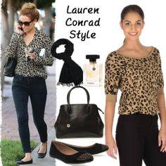 Trend alarm: Leopar! Sezonun dikkat çekici ayrıntılarından leopar desenini Lauren Conrad gibi denim ve babetler ile kullanarak şık ve trendy görünebilirsiniz. #love #fashion #style #limoncompany