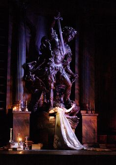 """Tosca"" Scenic Design Paul Brown. Royal Opera House. London"