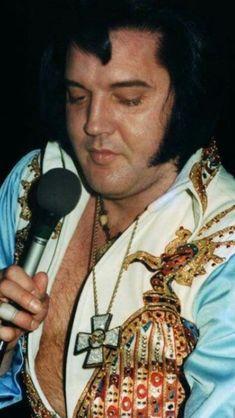 Elvis in his last few years.