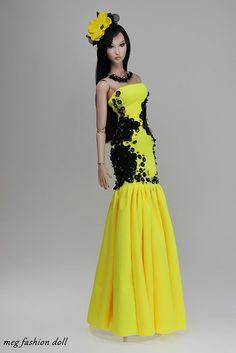 New outfit for Kingdom Doll / Deva Doll /Modsdoll/Numina/35