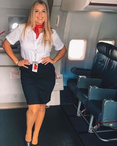 Airline cuties Cutest and hottest cabin crew stewardess Airline Attendant, Flight Attendant, Lady Jane Seymour, Flight Girls, Female Pilot, Beautiful Women Over 40, Sexy Older Women, Cabin Crew, Sexy Stockings
