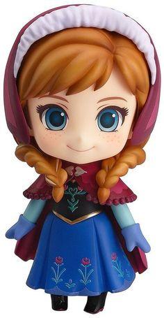 Good Smile Company Anna Disney Frozen Nendoroid Re-Run) Anna Disney, Frozen Disney, Anna Frozen, Princesa Disney Frozen, Film Frozen, Cute Disney, Walt Disney, Frozen 2013, Chibi