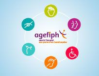L'Agefiph vous accompagne dans toutes vos démarches pour accéder et conserver votre emploi. Guide, Logo, Job Offer, Logos, Logo Type