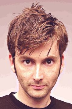David Tennant - again.  hair.