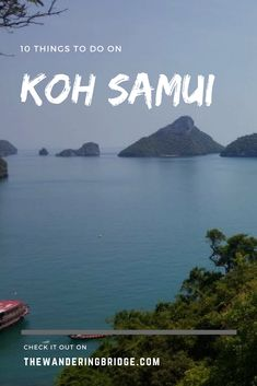 10 Things to do on Koh Samui #Thailand #Travel #KohSamui