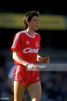 Portrait of Gary Ablett of Liverpool in action during a Canon League Division One match played at Anfield in Liverpool England Mandatory Credit Ben...