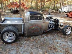 pics of rat rod trucks Rat Rod Cars, Hot Rod Trucks, Cool Trucks, Big Trucks, Chevy Trucks, Rat Rods, Dually Trucks, Truck Drivers, Diesel Trucks