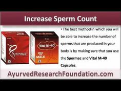 This video describes how to produce more sperm naturally with the use of spermac capsules.