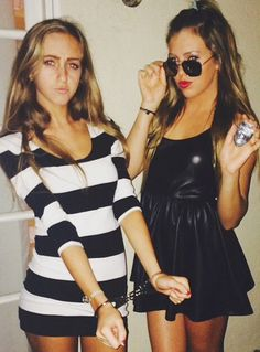 Halloween Costume: Cops and Robbers