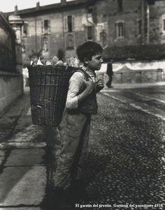 El Garzòn del Prestinèe   Il ragazzo del Panettiere   Milano #TuscanyAgriturismoGiratola