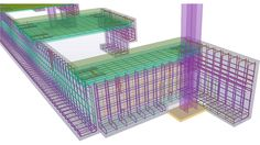 Silicon Engineering Consultants Wellsford provide Shop Drawing Services for Structural Steel Design Detailing Work, Rebar Concrete Pit Foundation Detailing Service with Bar Bending and Precast Wall Panel Detailers. Rebar Detailing, Building Information Modeling, Construction Design, Decorative Boxes, Engineering, Steel, Home, Floor Plans, Ad Home