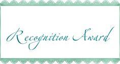 JulieMcQueen: Blogger Recognition Award http://juliemcqueen.blogspot.ru/2014/11/blogger-recognition-award.html