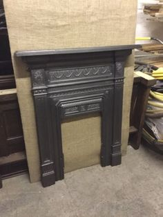 #Beautiful victorian cast iron fireplace #restored suit #bedroom,  View more on the LINK: http://www.zeppy.io/product/gb/2/322103168504/