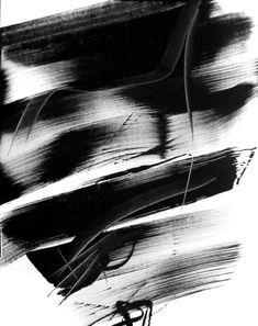 Laurent KOLLER Trace de peinture noire