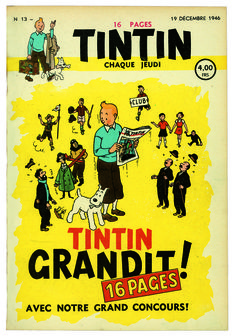 "The great adventure of ""Tintin"" magazine"