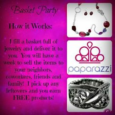 Take a Basket of Paparazzi Jewelry & Accessories with you! Paparazzi Display, Paparazzi Jewelry Displays, Paparazzi Accessories, Jewelry Accessories, Paparazzi Logo, Paparazzi Jewelry Images, Paparazzi Photos, Hostess Wanted, Jewellery Advertising