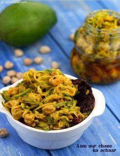 Aam Aur Chane ka Achaar ( Rajasthani) recipe | by Tarla Dalal | Tarladalal.com | #3904