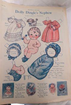 Dolly Dingle  1927 Nephew Baby