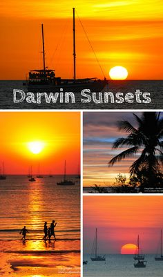 Every night night Darwin shows off. The sunsets around Darwin are consistently great spectacles. Crowds gather on the ever popular Mindil Beach to watch the show.