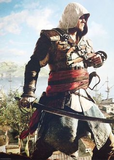 Edward Kenway AC Black Flag | ~ { assassins creed }